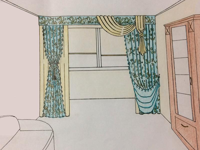 Ажурные ламбрекены и планки на карниз - вариант недорого украсить окно